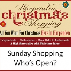 Harpenden Christmas Shopping 2013