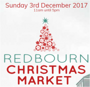 Redbourn Christmas Market and Lights Up 2017